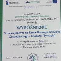 """Debata """"Wolontariat na Pomorzu Zachodnim"""" - OWES Szczecin, 2015."""